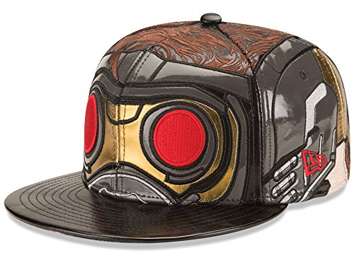 timeless design 27185 cf374 Marvel Men s New Era Galaxy of the Guardians Character Face Star Lord 59FIFTY  Hat Cap