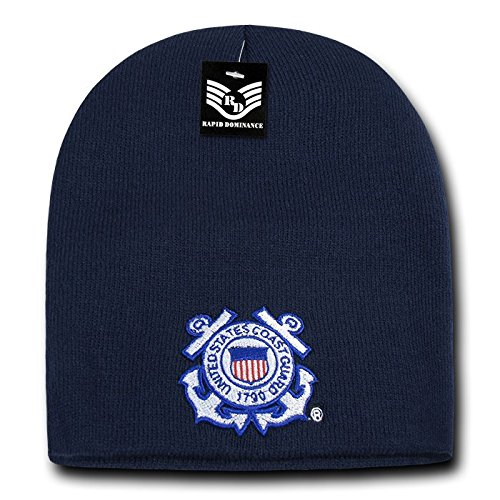 e2ee30bdc033d Image Unavailable. Image not available for. Color  Rapid Dominance United  States Coast Guard 1790 Beanie Hat