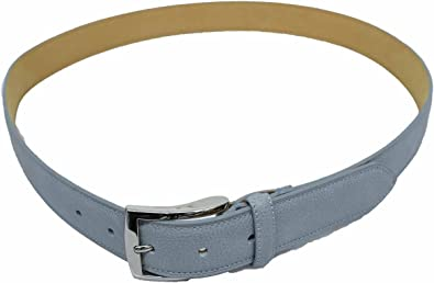 073325df1c9d Image Unavailable. Image not available for. Color: Tasso Elba Men's 82457  Grey Feather Edge Leather Belt ...