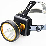 Hunting Fishing Best Deals - olidear LED Headlamp Torch Outdoor Rechargeable Headlight for Camping Hunting Fishing