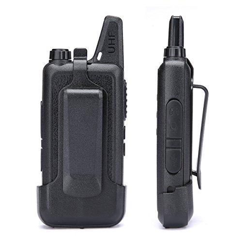 LUITON Mini Kids Walkie Talkies with Micro USB Charging LT-316 Uhf Two Way Radio (10 Pcs) by LUITON (Image #4)