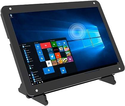 Monitor de pantalla táctil de 7 pulgadas para Raspberry Pi, pantalla IPS portátil 1024 * 600 Pantalla táctil HDMI con estuche, para consolas de juegos / PC / cámara / Win OS: Amazon.es: Electrónica