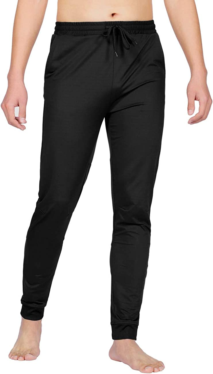 DISHANG Men's Quick Dry Hiking Outdoor Sports Pants Workout Pants with Pockets Athletic Running Gym Workout