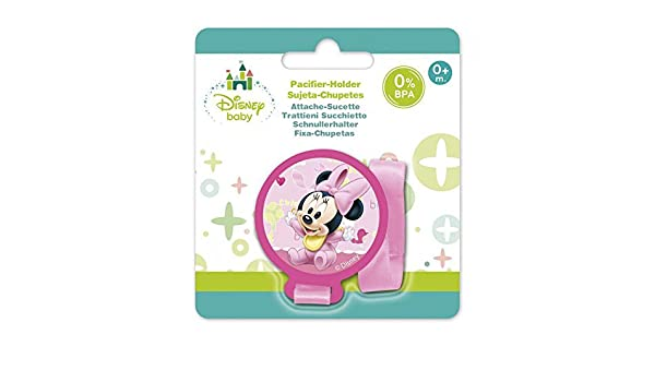 Amazon.com : Disney Minnie Baby Pacifier Holder : Office ...