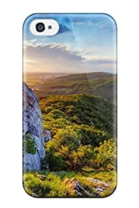 Hot Fashion Design Case Cover For Iphone 4/4s Protective Case (valley)