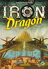 Return to the fantasy-steampunk world of Darwinina in Mayfair Games' classic Iron Dragon! After a century of ruin and chaos, the dwarves, elves, humans, orcs and trolls have begun to rebuild their world. To do this, they need to bring back th...