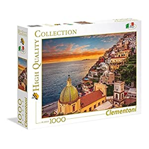 Clementoni 39451 High Quality Collection Puzzle Positano 1000 Pezzi