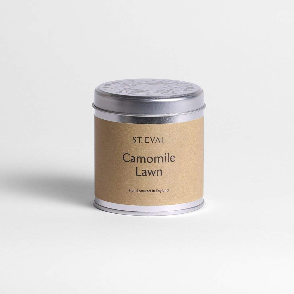 """St Eval /""""Camomile Lawn/"""" Scented Candle in a Tin 45 Hours Burn Time"""
