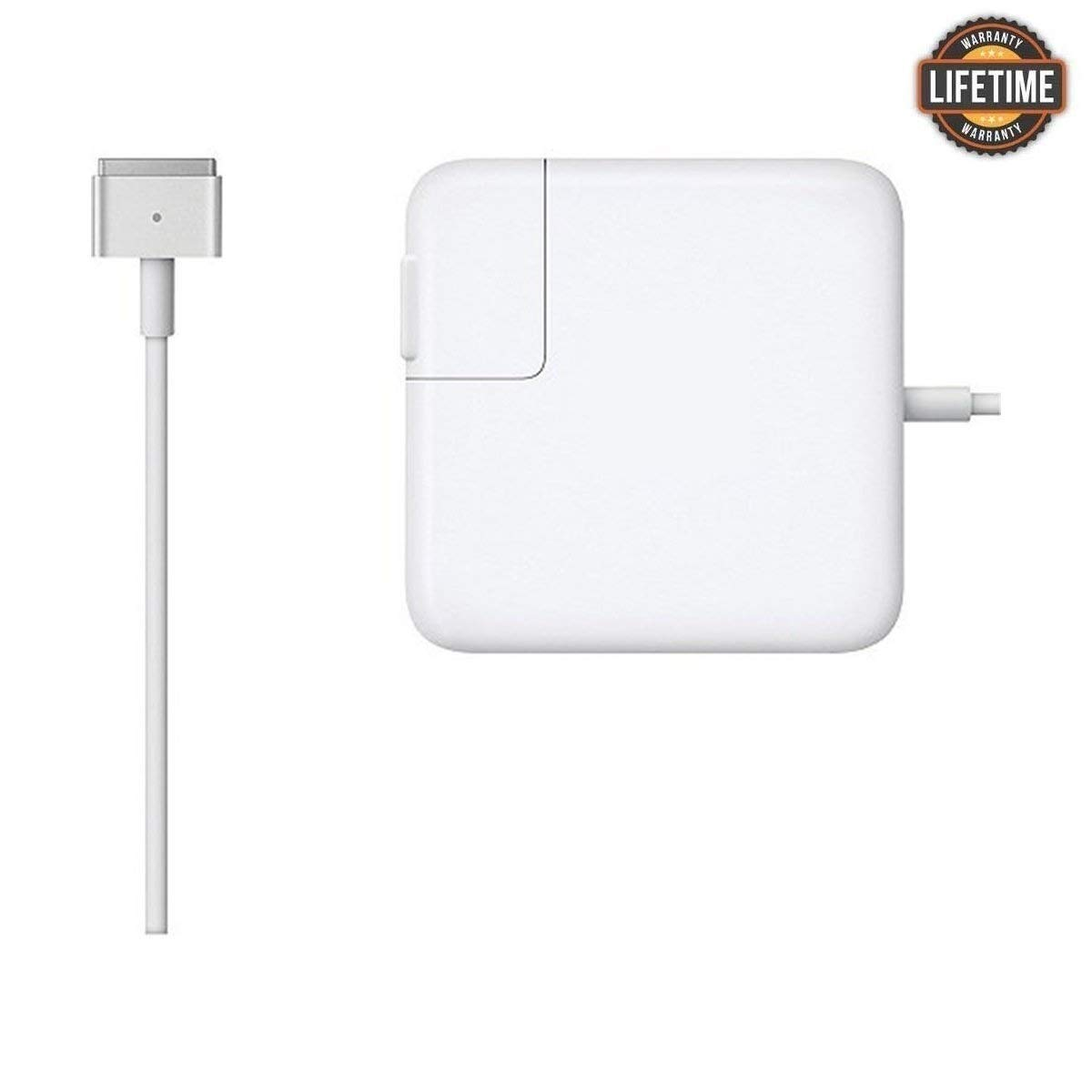 Mac Book Air Charger, Great Replacement 45W Magsafe 2 Magnetic T-Tip Power Adapter Charger for Mac Book Air 11-inch and 13-inch (45T)