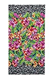 Animal Flower Beach Towel 34 X 64