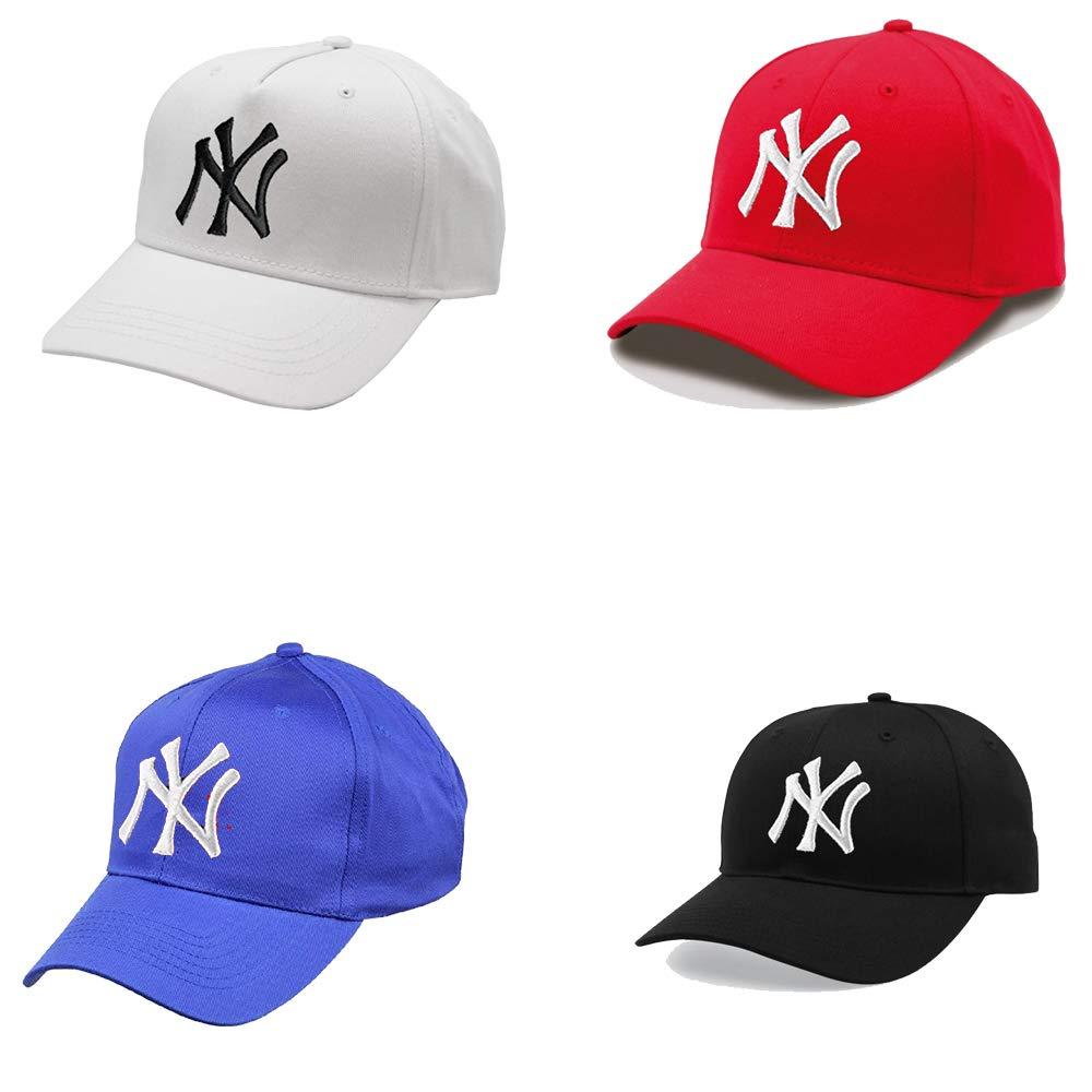 We2 NY - Gorras de béisbol (4 Unidades): Amazon.es: Ropa y accesorios