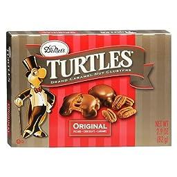 Demet\'s Turtles Brand Caramel Nut Clusters 2.9oz