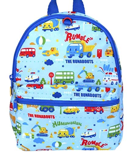 Toddler Runabout - The Runabouts Breathable Ultra Lightweight Soft Puffy Nursery Backpack Candy Blue Baby Kids Toddler Bag