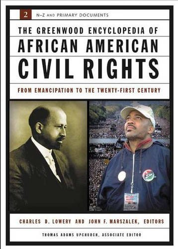 Search : The Greenwood Encyclopedia of African American Civil Rights: From Emancipation to the Twenty-First Century, Volume II, S-Z and Primary Documents