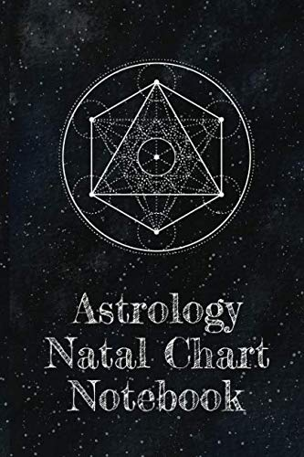 Astrology Natal Chart Notebook: Organizer For Blank Star Birth Charts -  Astrology Natal Chart Interpretation Of Houses And Signs Log - 100+ Guided Pages - Zodiac Sign Journal ()