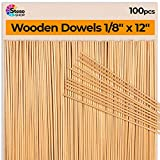 Wooden Dowel Rods 1/8 - Dowels 12inch