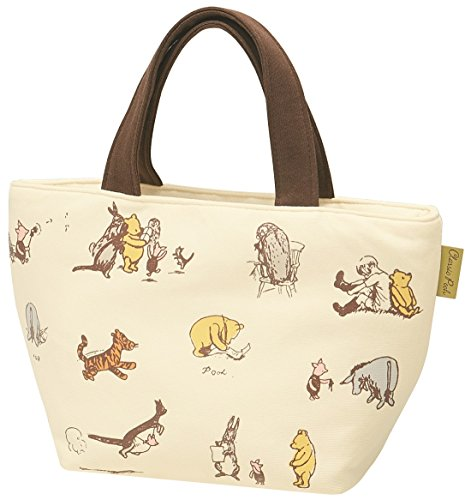 4973307376719 Winnie the Pooh sweat lunch bag/Classic Pooh color