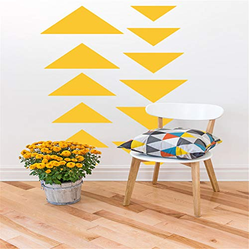 Decal Art Saying Lettering Sticker Wall Decoration Art Geometric Triangle Abstract Symbol Trending Trendy Shape Geometry