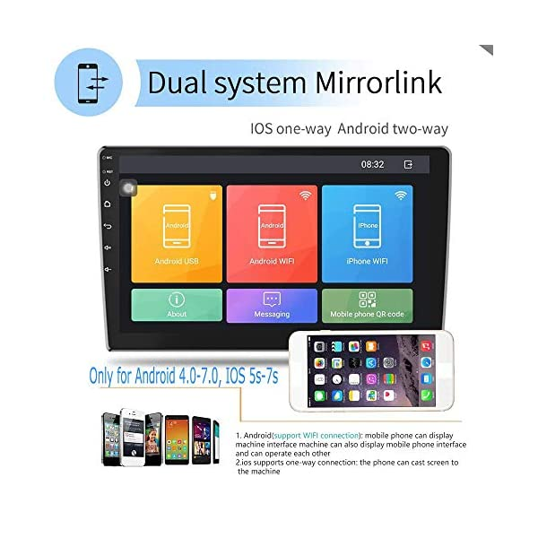 2G32G-Upgrade-Hikity-Double-Din-Android-Car-Stereo-101-Inch-Touch-Screen-Radio-Bluetooth-WiFi-GPS-FM-Radio-Support-AndroidiOS-Phone-Mirror-Link-with-Dual-USB-Input-Backup-Camera