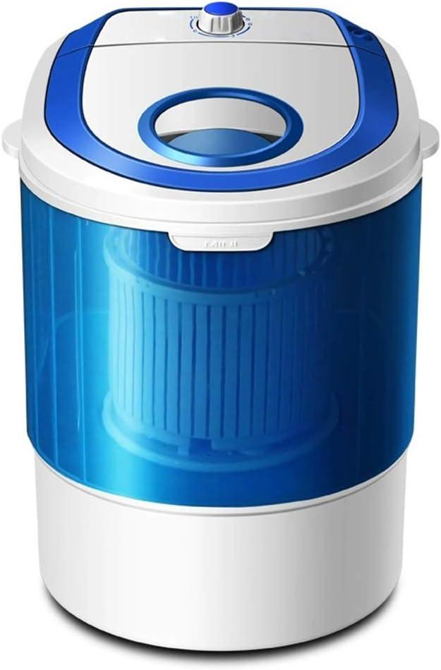 ELEXERT Lavadora Portatil,Mini Lavadora,de 4,5 KG / 6,5 KG de Capacidad Total Combinada y Secadora Bajo Consumo Silencioso Combo Compacta para dormitorios de Camping Apartamentos,Blue
