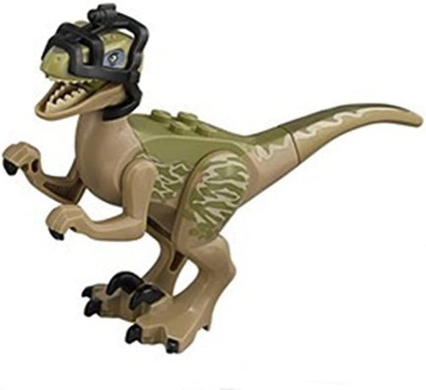 "LEGO Jurassic World Raptor ""Delta"" Minifigure"