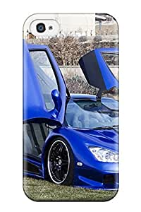 Iphone 4/4s Case Cover - Slim Fit Tpu Protector Shock Absorbent Case (vehicles Car)