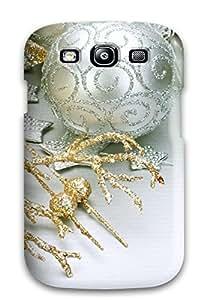 Unique Design Galaxy S3 Durable Tpu Case Cover Christmas Decoration