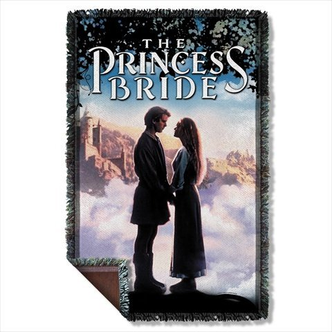 The Princess Bride Storybook Love Sublimation Woven Throw