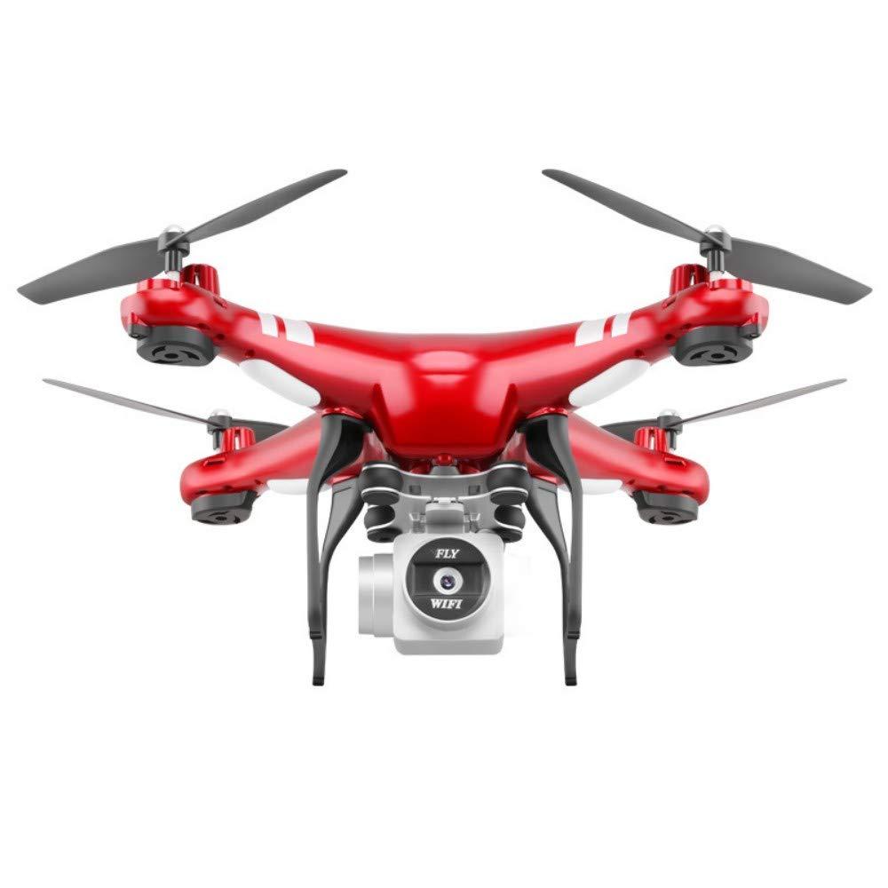 Droni Beginner Gestures Orbiting Flight App Control Regolazione a due velocità Altezza stabile Batteria con ritorno a un pulsante Super resistente e facile da usare Rosso Nessuna fotografia aerea