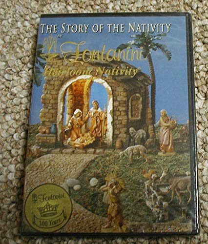 The Story Of The Nativity by Fontanini Heirloom - Nativity Dvd Story