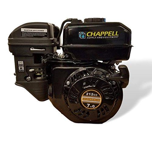 212cc OHV 4 Stroke Gasoline Engine with Low Engine Oil Shutdown by Raptor Blast