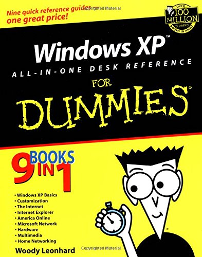 Windows XP All-in-One Desk Reference For Dummies (For Dummies (Computers))