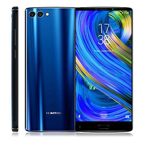 HOMTOM S9 Plus 5.99 inch 4G Smartphone (4GB + 64GB 16 MP + 5 MP Octa Core 4050mAh) (Blue)