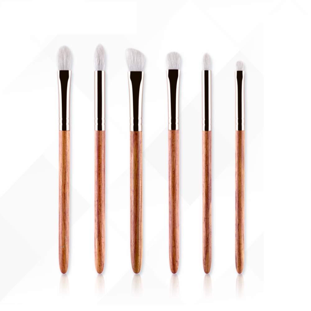 6Pcs Makeup Brush Fine Light Front Wool Smudge Brush Eye Shadow Brush Nasal Brush by Brush makeup