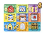 Melissa & Doug Magnetic Hide & Seek B...
