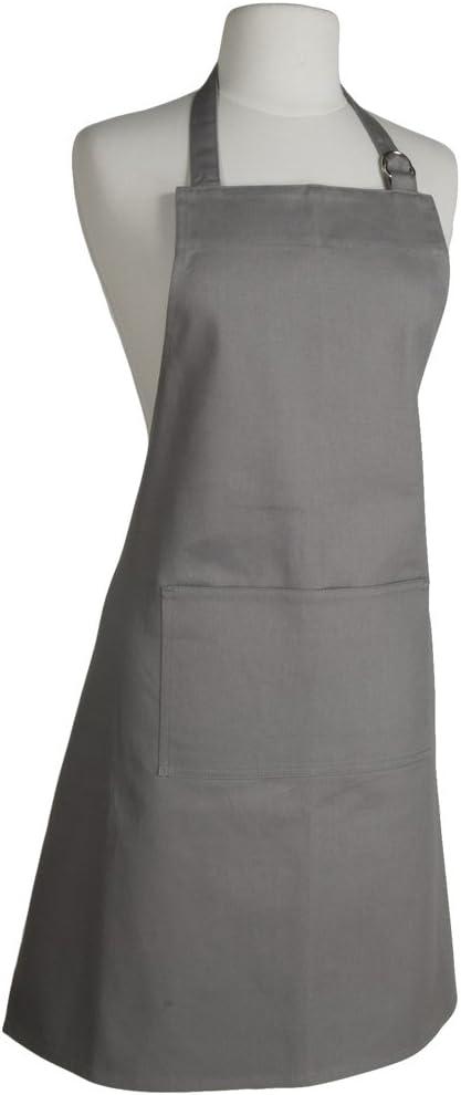 Now Designs Basic Cotton Kitchen Chef's Apron, London Grey