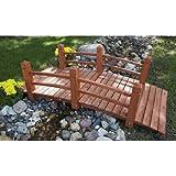 5-Ft. Long Wooden Decorative Garden Bridge