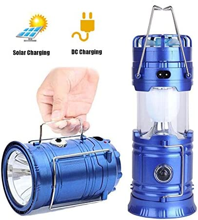 Outdoor Multi-function Solar Rechargeable Fan LED Camping Light Flashlight Lamp