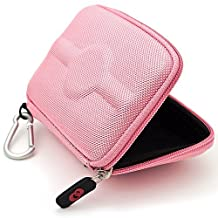 Baby Pink Nylon VG GPS Carrying Case (Size 4.3) for Garmin nüvi 255W/255WT 4.3-Inch Widescreen Portable GPS Navigator + SumacLife Wisdom Courage Wristband