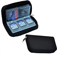 20 Slot CF/SD Card Carrying Storage Pouch Box Holder Wallet Bag Case