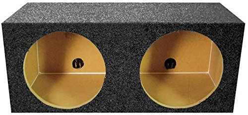 Qpower QMPSQ12E 12 in. Square Style Empty Woofer Box B0031T0VF6