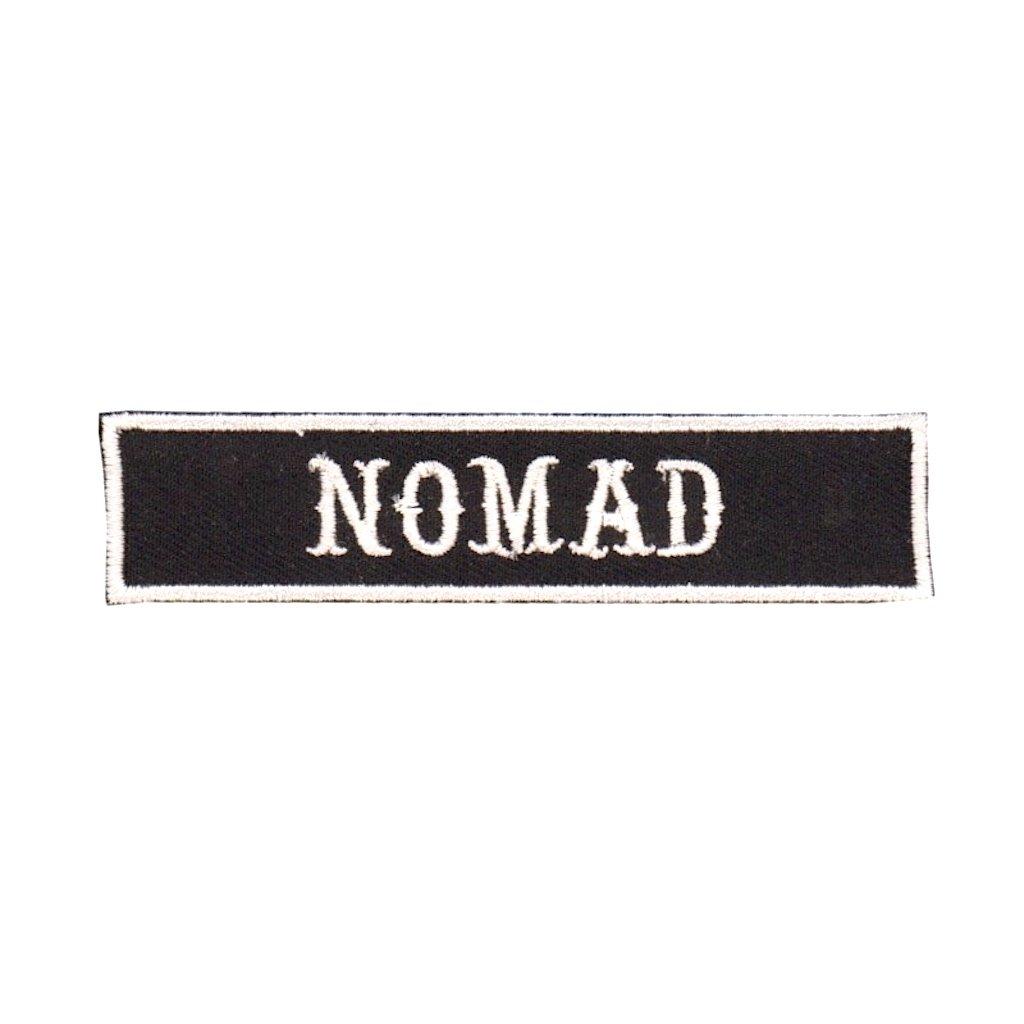 "Kustom Factory - Toppa con logo ""Nomad"" PATCH NOMAD"