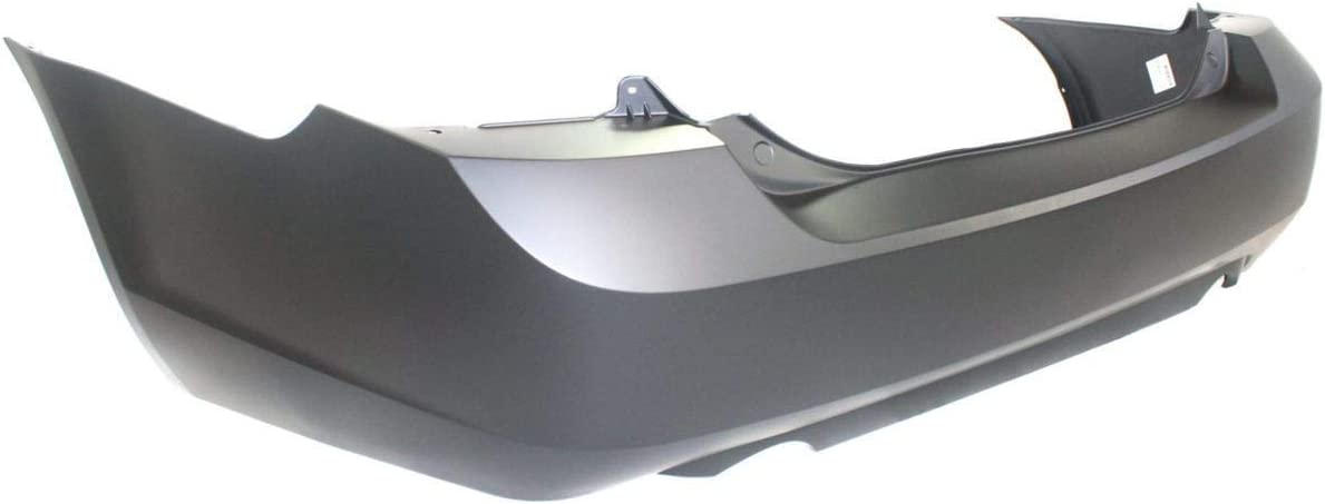 MBI AUTO FO1100593 Painted to Match Rear Bumper Cover Replacement for 2006-2009 Ford Fusion w//Dual Exhaust 06-09