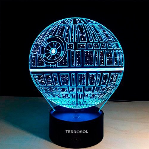 3D Illusion Platform Star Wars Night Lighting