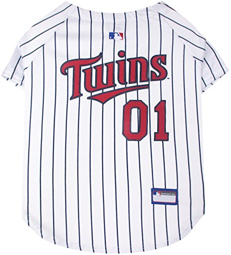 sota Twins Dog Jersey, Medium. - Pro Team Color Baseball Outfit ()