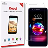 6X Dooqi HD Clear LCD Screen Protector Shield Cover Saver for LG K10 2018 / LG K30