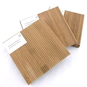 3pc Bamboo Decking Samples by Green-Boo - Decking Materials