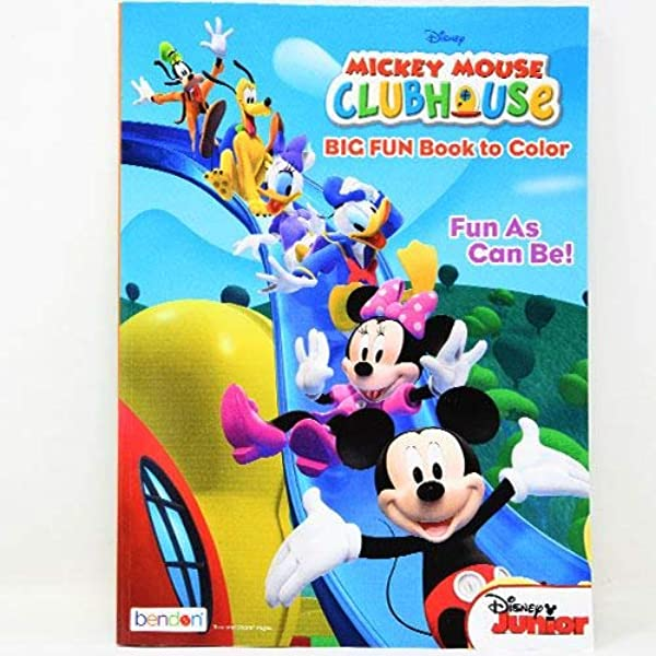 - Amazon.com: Disney Coloring Books For Kids With Sticker - Mickey Mouse:  Office Products
