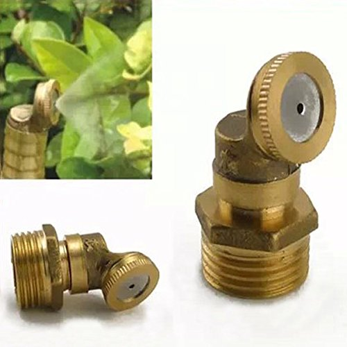 Watering & Irrigation - Brass Agricultural Mist Spray Nozzle Garden Irrigation System - Agricultural Spray Nozzle Nozzles - (Freedom Nebulizer)