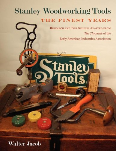 Read Online Stanley Woodworking Tools: The Finest Years PDF